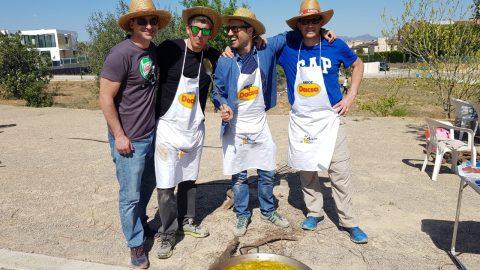 ¡Gran éxito el I concurso de paellas!