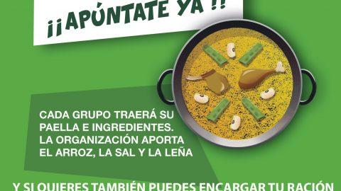 ¡CONCURSO DE PAELLAS EL 24 DE MARZO!